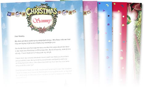 on your child's face upon receiving a Personalized Santa Letter! Santa